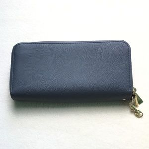 Grayish/blue Wallet